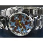 ルイヴィトン 時計コピー louis vuitton腕時計 自動巻/茶文字盤/女性用 LV-003