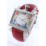 ガガミラノ コピー腕時計ナポレオーネ40mm レザー ホワイト/ブラックシェル ボーイズ 6030.4