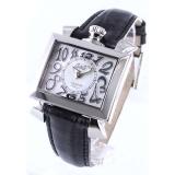 高級時計ガガミラノ ナポレオーネ40mm レザー ホワイト/ブラックシェル ボーイズ 6030.4