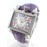 ガガミラノ ナポレオーネ40mm 時計コピーレザー ライトパープル/ホワイトシェル ボーイズ 6030.7