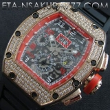 リシャール・ミル 時計コピーフェリペ・マッサ, Asian 7750搭載 28800振動価格