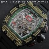 リシャール・ミル 時計コピーフェリペ・マッサ, Asian 7750搭載 28800振動新作