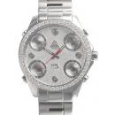 ジェイコブ 腕時計コピー クォーツイヤモンド 5タイムゾーン アラビア タイプ 新品メンズ