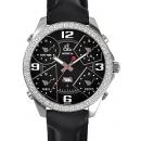 ジェイコブ 腕時計コピークォーツダイヤモンド ブラック アラビア タイプ 新品メンズ