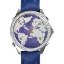 ジェイコブ腕時計コピー JACOB&COクォーツステンレス ダイヤモンド パープル