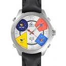 ジェイコブ 時計コピー JACOB&CO ザファイブタイムゾーン ホワイト