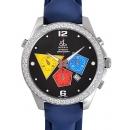 ジェイコブ腕時計コピー JACOB&CO自動巻きステンレス ダイヤモンド ブラック