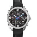 ジェイコブ時計コピー JACOB&CO 5タイムゾーン ダイヤモンド ブラック