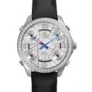 ジェイコブ腕時計コピー JACOB&COクォーツステンレス ダイヤモンド シルバー