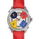 ジェイコブ 時計コピー JACOB&COクォーツステンレス ダイヤモンド シルバー