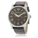 MONTBLANC モンブラン 腕時計コピー タイムウォーカー 101551 AUTO オート ブラック レザー