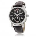 MONTBLANC モンブラン 時計コピー スター 102377 オートクロノ ブラック レザー