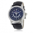 MONTBLANC モンブラン時計コピー STAR スター 106464 GMT ブラック ブラックレザー
