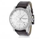 モンブラン 腕時計コピー タイムウォーカー クロノ ヴォイジャー 107065 シルバー ブラウン レザー
