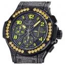 ウブロ時計コピー ビッグバン ブラックフローイエロー 世界250本限定341.SV.9090.PR.0911