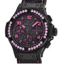 ウブロ時計コピー ビッグバン ブラックフローピンク 世界限定250本341.SV.9090.PR.0933