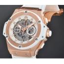 ウブロ 時計コピーキングパワー ウニコ キングゴールド ホワイト701.OE.0128.GR