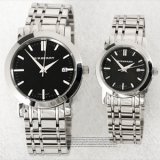 バーバリー BU1364/BU1365 カップル用腕時計コピー(ヘリテージ) 黒文字盤