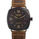 パネライ時計コピーラジオミール コンポジット ブラックシール3デイズPAM00505