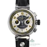 ブランドルイ・ヴィトン 偽物腕時計 コピータンブールフライバッククロノ ヴォレ Q1028