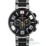 ルイ・ヴィトン時計 コピー タンブールインブラッククロノブランド LV腕時計 Q114K