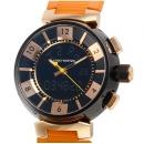 ルイ・ヴィトン時計 コピー LOUIS VUITTONタンブールインブラック Q118N