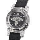 ルイ・ヴィトンコピー腕時計 LOUIS VUITTON タンブールビジュ ノワール Q151K1