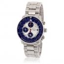 セイコー SEIKO QUTARZ腕時計コピー クオーツ クロノグラフ SNA414P1 逆輸入 パイロット ブラック/ゴールド