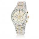 セイコーSEIKO 腕時計コピー クオーツ クロノグラフ SSB045P1 逆輸入 ブラック