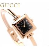 グッチ 時計 コピー レディース 1900 ブラック ピンクゴールド GUCCI YA019522