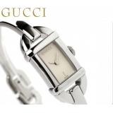 グッチ 時計コピー レディース バンブー 6800 アナログ ホワイト GUCCI YA068531
