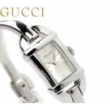 グッチ 時計 偽物レディース バンブー 6800 シルバー GUCCI YA068580
