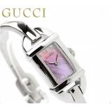 グッチ 時計 偽物 レディース バンブー 6800 ピンクシェル GUCCI YA068581