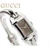 グッチ 時計 レディース バンブー 6800 ブラウン GUCCI YA068582