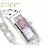 グッチ 時計偽物 レディース Gリンク ピンクシェル GUCCI YA110520