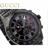 グッチ 時計 偽物メンズ Gタイムレス オールブラック GUCCI YA126217