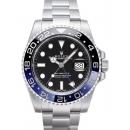 ロレックス GMTマスターII コピー116710BLNR ブラック/ブルーベゼル ブラック