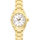 オメガ時計コピー シーマスター 価格アクアテラ 2164.75 オートマチック ダイヤモンド ホワイトシェル レディース