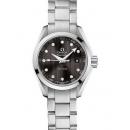 オメガ シーマスター 時計コピー アクアテラ ダイヤインデックス グレー レディース 231.10.30.60.56.001