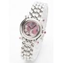 ショパール 腕時計コピー ピンクサファイア ピンクシェル レディース 27/8250-42