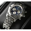 ブライトリング 時計コピー ウインドライダー クロノマット44 A012C88PA 青/銀文字盤
