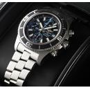 ブライトリング腕時計コピー スーパーオーシャンクロノグラフ A110B83PRS 黒/青文字盤
