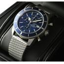 ブライトリング 時計コピー スーパーオーシャンヘリテージクロノ 青文字盤 A272C58OCA