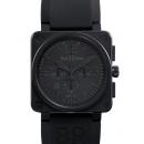 ベル&ロス 腕時計コピーBR01-94BLACK ステンレス ブラック
