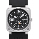 ベル&ロス 腕時計コピー BR03-51-T GMT ブラック