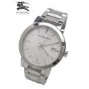 バーバリー腕時計時計コピー BU9000シルバーBURBERRYメンズ
