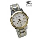 バーバリー 時計 コピー BU9115ゴールド×シルバーレディースユニセックス