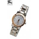 バーバリー時計腕時計BU9214ダイヤモンドシルバー/ピンクゴールド