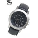 バーバリー時計コピーU9356ブラックブラックベルトクロノグラフメンズ