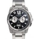 カルティエ 腕時計コピーカリブル コピードゥ カルティエ クロノグラフ W7100061
